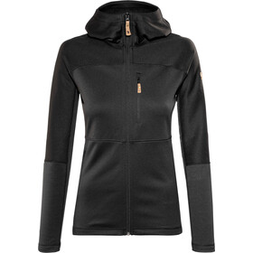 Fjällräven Abisko Trail Fleece Jas Dames, black